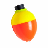 "Betts Plastic Pear Float 1-1/4"" 3pk - Orange/Yellow"