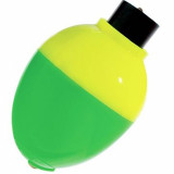 "Mr Crappie Rattlin Pear Float 1"" 3pk  - Yellow/Green"