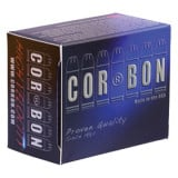 Corbon Self-Defense JHP Handgun Ammunition 9mm Luger +p 90 gr JHP 1500 fps 20/box