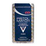 CCI .22 Long Rifle Pistol Match Precision Rimfire Ammunition