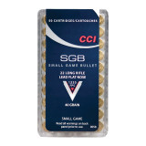 CCI .22 Long Rifle SGB Small Game Bullet Rimfire Ammunition