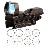 Center Point Red/Green Dot Sight - 1x32mm Multi-Reticle (40 combos) - Matte