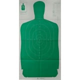 """Champion LE Targets Silhouette Target - 24"""" X 45"""", Green, 10/Pack"""