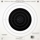 Champion Official NRA Targets TQ-4(P), 100 yd., Small Bore Rifle, Single Bull, 100/Pack