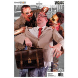 """Champion VisiColor Zombie Targets Street Attack - 12"""" X 18"""", 50/Pack"""
