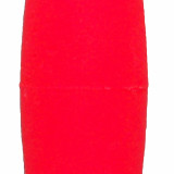 "Comal Tackle Snap-on Weighted Cigar Float 2"" 1pk - Red"