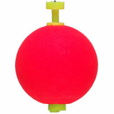 "Comal Tackle Snap-on Weighted Round Float 1.5"" 2pk - Red"