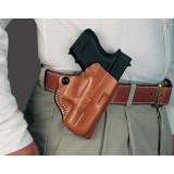 DeSantis Style 019 Mini Scabbard Ruger LCP 380 Tan Right Hand