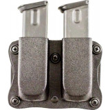 #A87 QUANTICO DOUBLE MAG POUCH FOR MOST DOUBLE STACK 9MM/40CAL KYDEX AMBI
