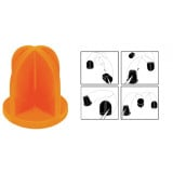 """Do-All Outdoors Impact Seal Ground Bouncing Targets 5"""" Top Hat"""