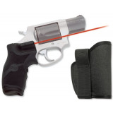 Crimson Trace Revolver Lasergrip - Taurus Small Frame w/Holster