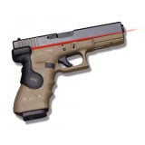 Crimson Trace Semi-Automatic Lasergrip - Glock .17L/.22/.24/.31/.34/.35/.37 Rear Activation