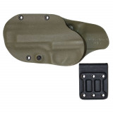 Gcode Holster for Beretta 92 Compact Belt Loop Left Hand Olive Drab