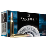 Federal Power-Shok Centerfire Rifle Ammunition 6.5x55mm 140 gr SP 2650 fps - 20/box