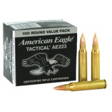 Federal American Eagle Rifle Ammunition .223 Rem 55 gr FMJ 3240 fps - 100/box