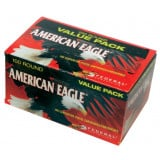 American Eagle Centerfire Handgun Ammunition 9mm Luger 115 gr FMJ 1180 fps 100/box