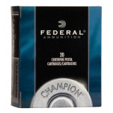 Federal Champion Handgun Ammunition .32 H&R Mag 95 gr LSWC 1020 fps 20/box