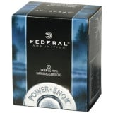 Federal Power-Shok Centerfire Handgun Ammunition .44 Mag 180 gr JHP 1460 fps 20/box