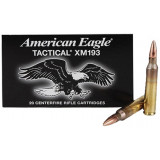 Federal American Eagle Ammunition - 5.56mm 55 gr FMJ - 20/ct
