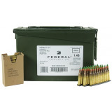 Federal NATO 5.56 Centerfire Rifle Ammunition 5.56mm 62 gr FMJ-BT 420/Can