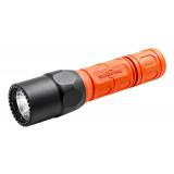 SureFire G2X Fire Rescue Pro Dual Output LED Flashlight - 50/320 Lumens 21.5/2.75 Hours Orange