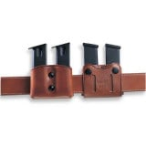 Galco .45 10mm Double Magazine Carrier Havana