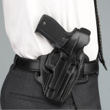 "Galco Colt 1911 3"" Fletch High Ride Belt Holster Right Hand Black"