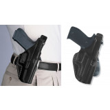 """Galco Colt Commander 4 1/4"""" 1911 PLE Unlined Paddle Holster Right Hand Black"""