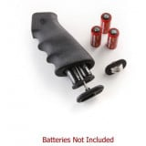 Hogue AR-15/M-16 Kit - OverMolded Rubber Grips with Cargo Management System Storage Kit - Black