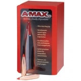 Hornady A-MAX Rifle Bullets - 6.5mm .264 dia 123 gr AMAX - 100/ct