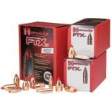 "Hornady FTX Rifle Bullets .338 cal .338"" 200 gr FTX 100/ct"
