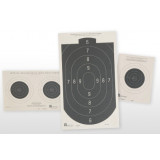 Hoppe's Small Bore Rifle Paper Targets - 100 yd. 20/pk