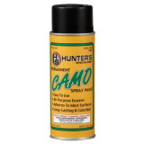 Hunter's Specialties Flat Black Permanent Spray Paint