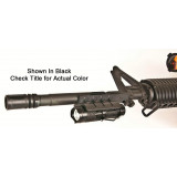 Hot Shot Tactical BeamLOKR Rifle Mount 130 Lumen 3 Mode Desert Sand