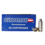 Ultramax Centerfire Handgun Ammunition .40 S&W 180 gr FMJ 920 fps 250/box