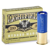 "Lightfield 20 ga 3"" Hybred Mag-20 Sabot Slug - 5/box"