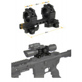 Leapers UTG 1-Piece Integral Med-Pro QD Ring Mount