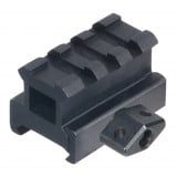 "Leapers UTG Med-pro Compact Riser Mount, 0.83"" High, 3 Slots"