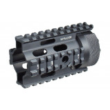 "Leapers UTG PRO Made in USA AR Pistol 4"" Free Float Quad Rail System"