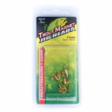 Leland Trout Magnet Replacement Jig Heads 1/64oz 5pk - Gold