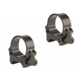 Leupold 2-Piece QRW (Weaver Style Quick Release) Rings - 30mm Low, Gloss
