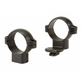 "Leupold 2-Piece STD Extension Rings 1"", High, Matte"
