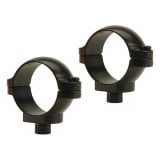 """Leupold 2-Piece Quick Release (QR) Scope Rings - 1"""" Low, Gloss"""