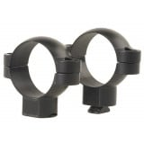Leupold 2-Piece STD Windage Adjustable Steel Rings 30mm, Super High, Matte