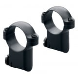 Leupold 2-Piece Solid Steel Ringmounts - Ruger No. 1 & 77/22 30mm, Medium, Gloss Black