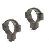 Leupold 2-Piece Dual Dovetail Rings - 30mm Super High, Gloss