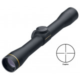 "BLEMISHED Leupold Fixed Power FX-II Eye Relief Scout Rifle Scope - 2.5X28mm Duplex 22' 9.3"" Matte"