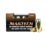 MagTech Guardian Gold .40 S&W 155 gr JHP 1205 fps 50/box