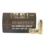 MagTech Guardian Gold .40 S&W 180gr JHP 20 Rounds/Box