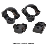 "Millett Turn-In 2-Piece Base Combo Paks - Includes Rings & Base Set Browning A-Bolt 1"" Medium, Smooth"